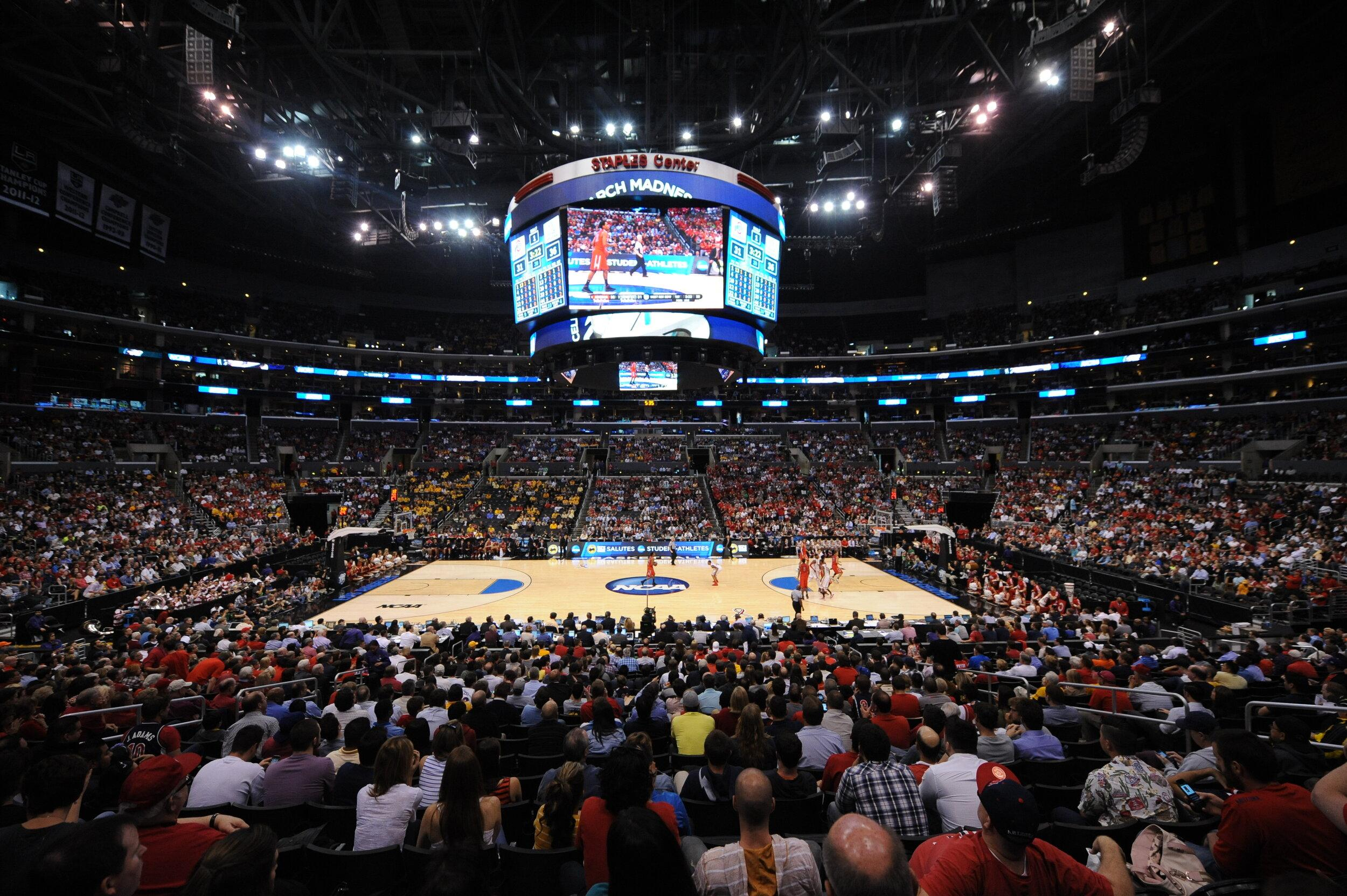 Los Angeles to Host NCAA Division I Men's Basketball West Regional at STAPLES Center in 2024
