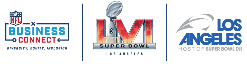 NFL Business Connect SBLVI LAHC Logo