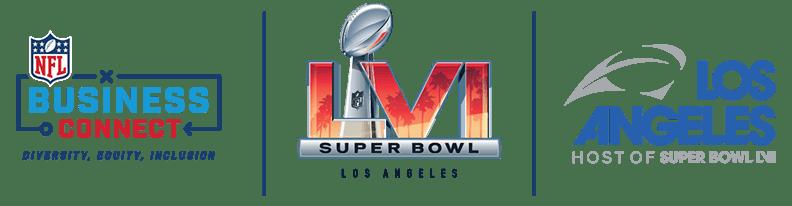 NFL Business Connect SBLVI LAHC Logo
