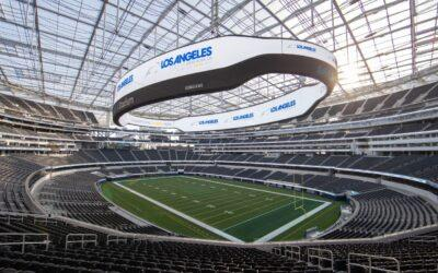 L.A. Super Bowl committee releases logo and plans for 2022 game at SoFi Stadium