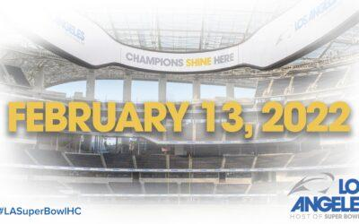 Los Angeles Confirmed to Host Super Bowl LVI on February 13, 2022